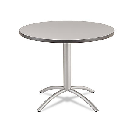 "Iceberg CaféWorks 36"" Round Table, Select Color"