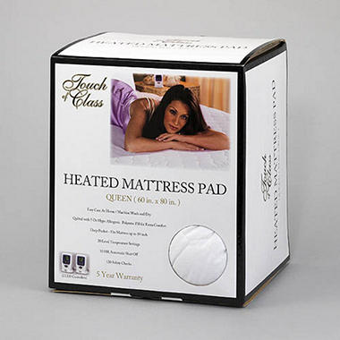 touch of class heated mattress pad king - Heated Mattress Pad King