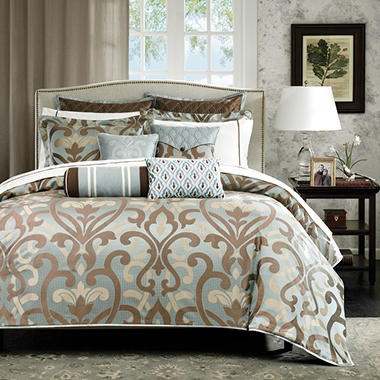 Sancerre Jacquard 16-piece Comforter Set - Queen