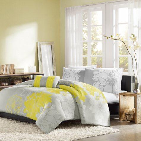 Chloe 4-Piece Duvet Set - Various Sizes and Colors