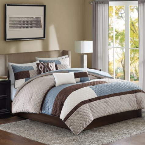 Cooper 7-Piece Comforter Set - Various Sizes