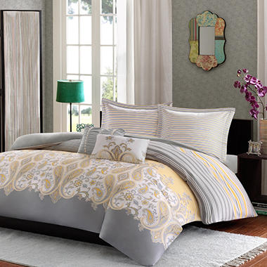 Cora 210 Thread Count Comforter Mini Set - Various Sizes