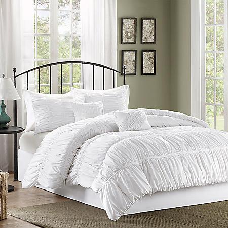 Pricilla 6-Piece Comforter Set - Various Size & Colors