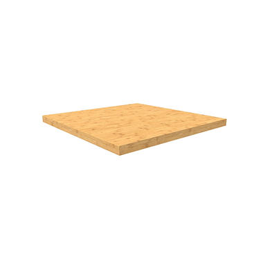 Pro 3.0  & Performance Plus 2.0 Corner Bamboo Top (24 x 24 x 1.25)
