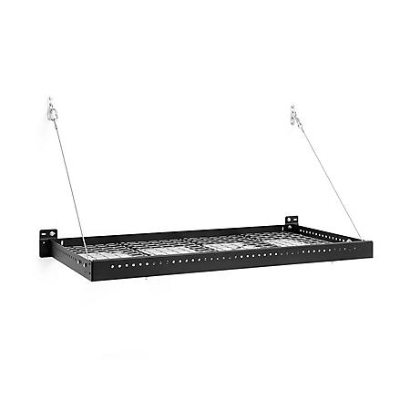 NewAge Products Pro Series 2 ft. x 4 ft. Wall-Mounted Steel Shelf (2 Pk.)