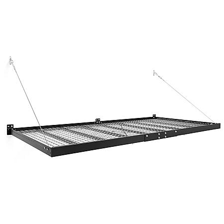 NewAge Products Pro Series 4 ft. x 8 ft. Wall-Mounted Steel Shelf (Set of 2)