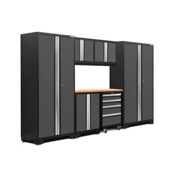 New Age Products Bold 3.0 7 Piece Garage Cabinet System