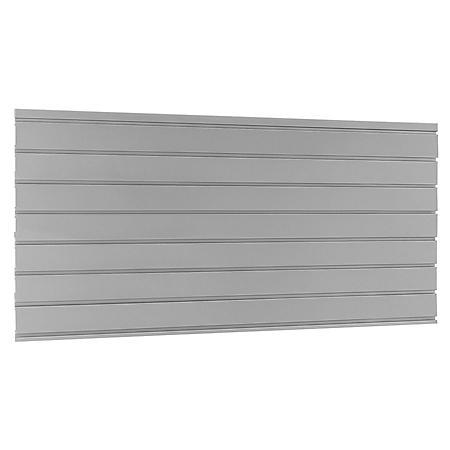 "NewAge Products Bold 3.0 Performance 2.0 Silver 48"" Backsplash"