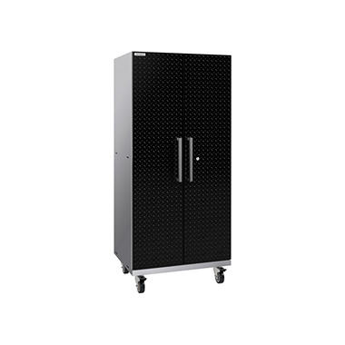 NewAge Products Performance Plus 2.0 Diamond Plate Mobile Locker (Black)