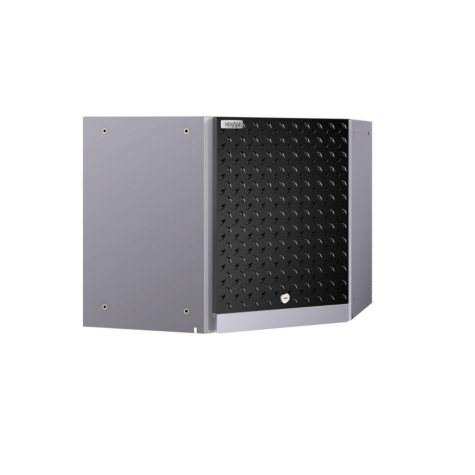 NewAge Products Performance 2.0 Diamond Plate Corner Wall Cabinet (Black)