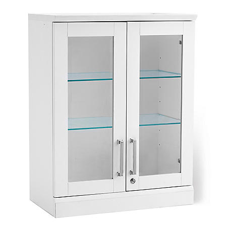 NewAge Products Home Bar Short Wall Display Cabinet - (Various Options)