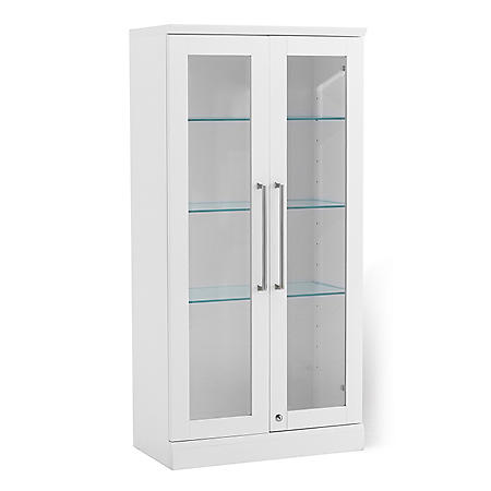 NewAge Products Home Bar Tall Wall Display Cabinet - (Various Options)