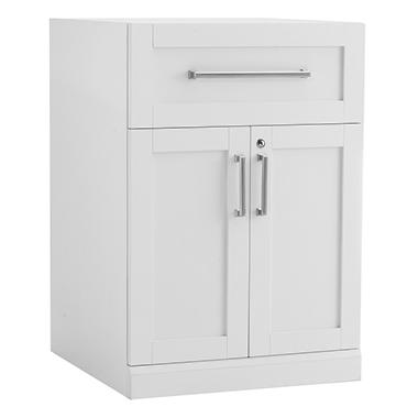 NewAge Products Home Bar One-Drawer Base Cabinet (White)