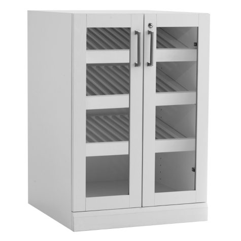 NewAge Products Home Bar Glass-Door Base Cabinet - (Various Options)