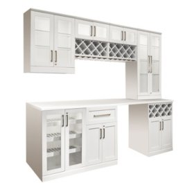 NewAge Products Home Bar Series 8-Pc. Shaker Style
