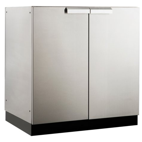 """NewAge Products Outdoor Kitchen 32"""" 2-Door Stainless Steel Cabinet"""