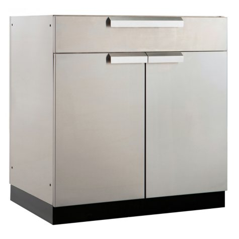 "NewAge Products Outdoor Kitchen 32"" Stainless Steel Bar Cabinet"