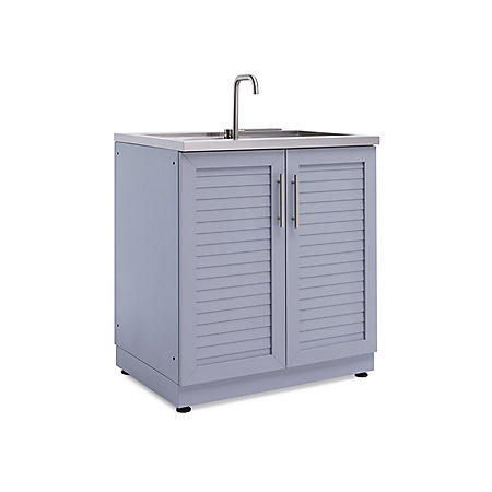 """NewAge Products 32"""" Aluminum Sink Cabinet"""