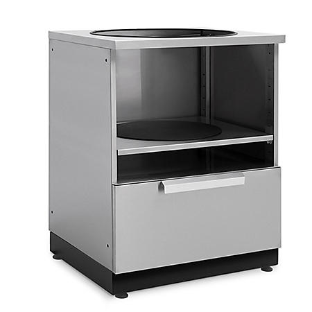 NewAge Products Outdoor Kitchen Kamado Cabinet in Stainless Steel