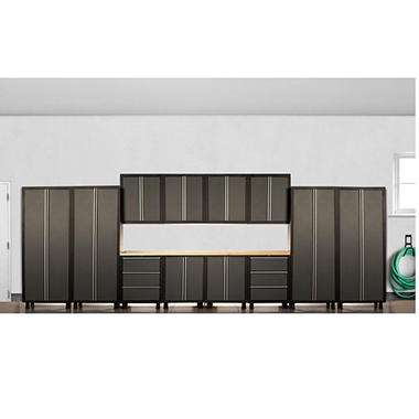 Coleman Cabinet Set   Gray   14 Pc.
