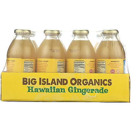 Big Island Organics Hawaiian Gingerade (16oz / 12pk)