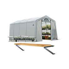 10 x 20 ft. Greenhouse With Anchor Kit and Shelf Kit