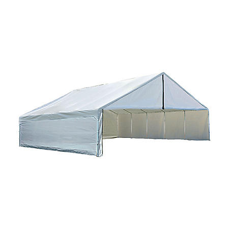 30 x 40 ft. Canopy with Enclosure Kit - White