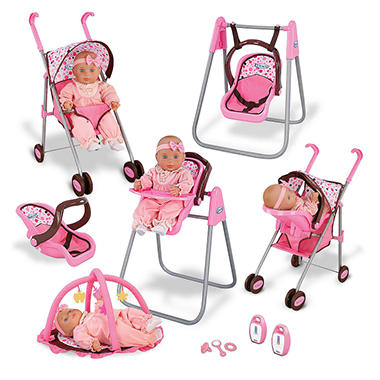 Graco Baby Doll Playset Sam S Club