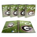 "4Pk. NCAA Team 1"" College Binders"