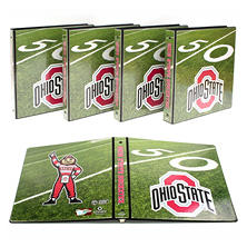 "NCAA Team 1"" College Binders, 4 pack (Select Team)"