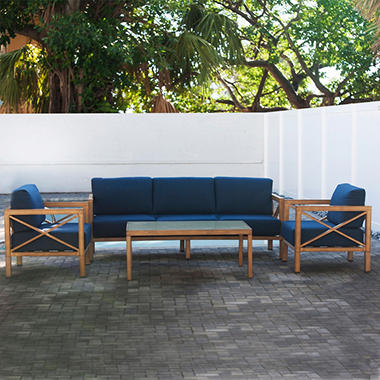 The Hampton 4-Piece Lounge Set