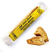 Gluten-Free Banana Bread, Single Wrapped Soft-Baked Biscotti (24 ct.)