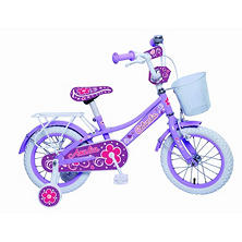 "Columbia 14"" Azalea Girls'Bike with Training Wheels"