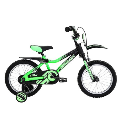 "Columbia 16"" Boys' Bike with Training Wheels"