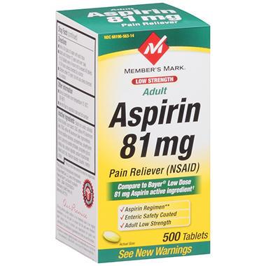 Bayer Low Dose Aspirin , 81 mg - 300 Tablets | Rite Aid