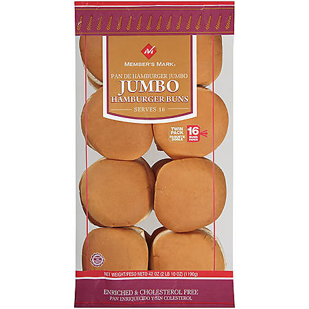 Member's Mark® Jumbo Hamburger Buns - 16 ct.