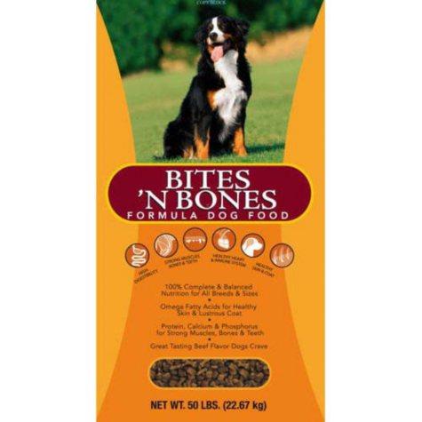 Sam's Club Bites & Bones Complete Dog Food - 50 Lb