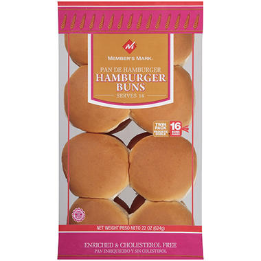 Member's Mark® Hamburger Buns - 16 ct.