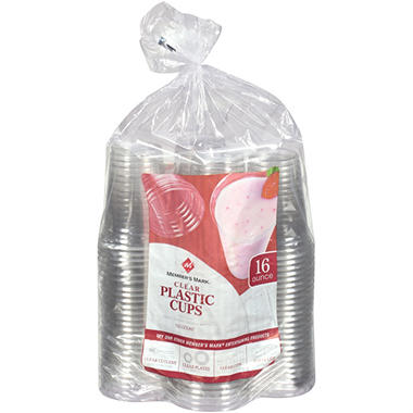 Member's Mark Plastic Cups, 16 oz. (100 ct.)