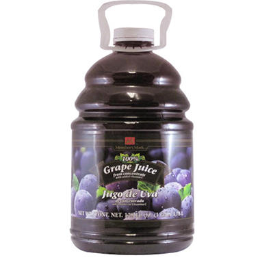 Member's Mark 100% Grape Juice - 128 fl. oz.