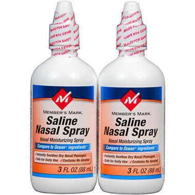 Member's Mark® Saline Nasal Spray - 2/3oz btls.