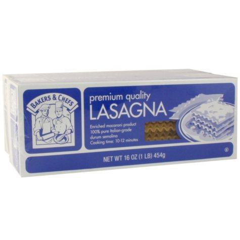 Bakers & Chefs Lasagna - 2 / 16 oz.