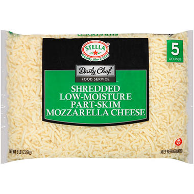 Bakers & Chefs™ Shredded Mozzarella Cheese