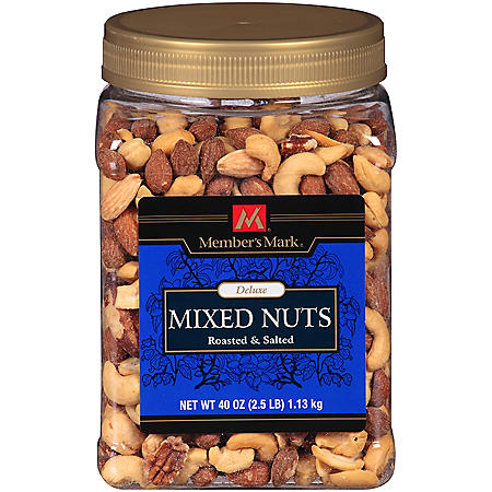 Member's Mark Deluxe Roasted & Salted Mixed Nuts - 40 oz.