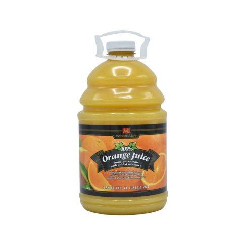 Member's Mark® 100% Orange Juice - 128 oz.