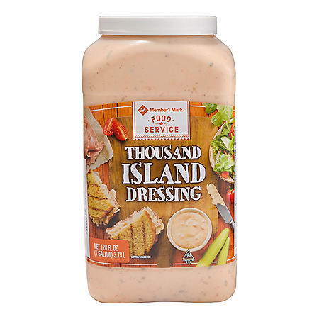 Member's Mark Food Service Thousand Island Dressing (128 oz.)