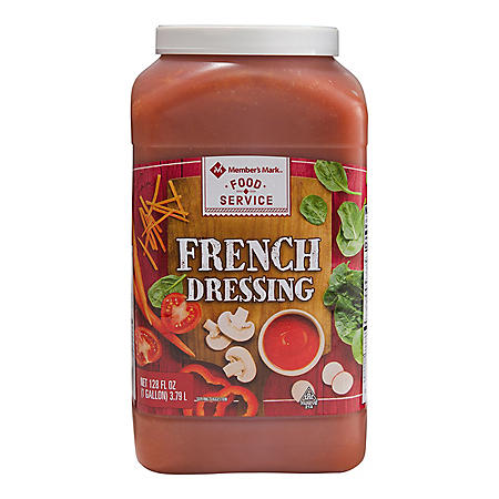 Member's Mark Food Service French Dressing (128 fl. oz.)