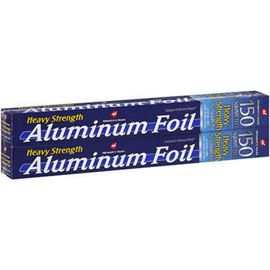 Member's Mark® Aluminum Foil - 2/150 sq. ft.