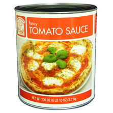 Bakers & Chefs Fancy Tomato Sauce - 106 oz. can