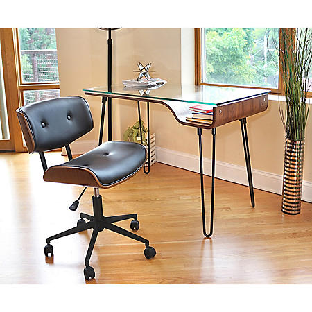 Avery Desk & Lombardi Chair Set